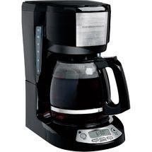 Walmart: Hamilton Beach 12-Cup Programmable Coffeemaker, Black