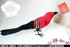 《原创》花喜鹊-编法图解-立体绳结教程与交流区-中国结论坛 -  手机版