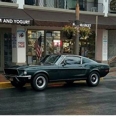 Classic Car News Pics And Videos From Around The World Mustang Bullitt, Ford Mustang Fastback, Mustang Cars, Shelby Gt500, 1967 Mustang, Shelby Mustang, Ford Mustangs, Classic Mustang, Ford Classic Cars
