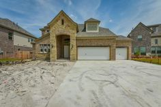 Welcome to Richmond TX Home Search - New Construction-Westin Car Garage! Sapphire, Mansions, The Originals, House Styles, Home Decor, Decoration Home, Manor Houses, Room Decor, Villas