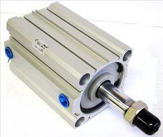 SMC CDQ2B80-100DM-J79W Air Pneumatic Compact Cylinder #SMC