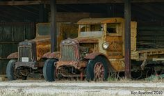 Old Trucks by Ken Rowland, via Flickr