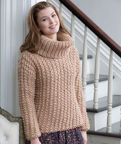 Ravelry: Chunky Textured Sweater pattern by Beth Whiteside