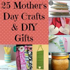 25 Mother's Day Crafts
