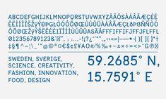 Sweden Sans – Official Typeface of Sweden