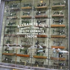 Store window: Chicago