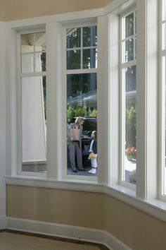 Attrayant Bay Window With Top Molding   Window Dressings   Pinterest   Moldings,  Window And Window Moldings