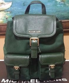 62d5f689beb535 MICHAEL KORS SUSIE BACKPACK Vs Cooper Large FLAP Rhea BAG PURSE NWT # MichaelKors #Backpack