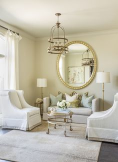 gorgeous living room by Harper Howey Interiors