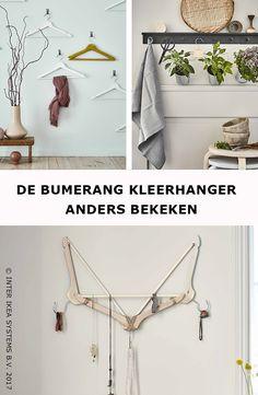 Een kleurrijke blikvanger, een juwelenhanger of een kruidentuintje, ontdek onze ideeën om creatief om te gaan met de BUMERANG kleerhanger. BUMERANG Kleerhanger, 3,99/8 st. #IKEABE #IKEAidee A colorful display, a jewellery hanger or a little herb garden, discover our ideas to get creative with the BUMERANG hanger. BUMERANG Hanger, 3,99/8 pcs. #IKEABE #IKEAidea