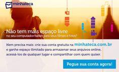Finalmente lancamos o http://minhateca.com.br! Por favor, nos dê sua opinião!