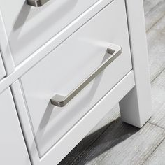 A perfect complement to a contemporary space, the Darby Home Co® Rosalinda vanity combines the clean, sharp lines of modern design with classic furniture styling. The carrara white marble countertop provides a dramatic contrast with the grey cabinet. Simple, bar-style pulls and knobs adorn the spacious drawers and doors, which conceal ample storage space for all your bathroom accoutrements.