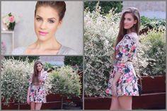 Coral Crush - Makeup & Outfit  #makeup #beauty #fashion #eyemakeup