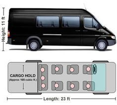385a22eac6 Bandago - 15 Passenger and Dodge Sprinter Van Rental in Chicago