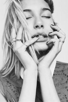 hannahsider:  Hailey Baldwin styled by Von Ford Hannah Sider©