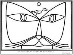 Coloring pages and lesson plan ideas Source by bessemsgemma Related posts: Paul Klee Worksheet Package and Lesson of Abstract Art – Paul Klee Coloring Pages Tree art lessons plans Miro Paintings, Famous Artists Paintings, Abstract Paintings, Picasso, Splat Le Chat, Paul Klee Art, Art Handouts, Bird Coloring Pages, Kids Coloring