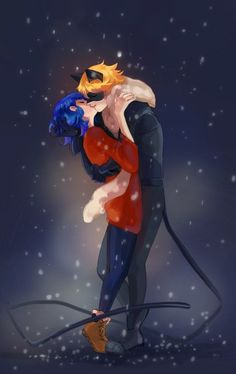 Miraculous LadyBug | Леди Баг и Супер-кот. Winter kiss Marichat