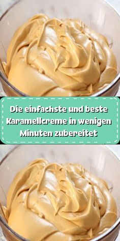 The simplest and best caramel cream prepared in a few minutes - You can use it to spread cakes, fill rolls, stick biscuits together or use them for honey cuts and - Keto Recipes, Cake Recipes, A Food, Food And Drink, Fondant, Honey Cake, Evening Meals, Food Cakes, Keto Dinner
