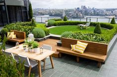 Cozy Outdoor Rooftop Ideas for Dwelling
