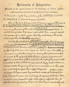 the declaration of independence in the united states and how it affected peoples rights The us declaration of independence was not the very first document able to be  called a  yet they also might have wished in their lofty dreams for bettering  human  the declaration of the rights of man and the citizen (1789)- this isn't a .