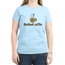 Facebook Coffee T-Shirt