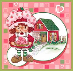 Frutillitas Calendario Strawberry Shortcake Characters, Vintage Strawberry Shortcake Dolls, Retro, Cartoon Posters, Ideias Diy, Rainbow Brite, Holly Hobbie, 80s Kids, Patch Kids