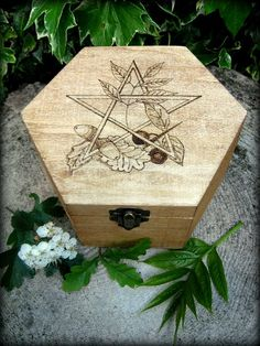 Traditional English Herb Reliquary by WytchenWood