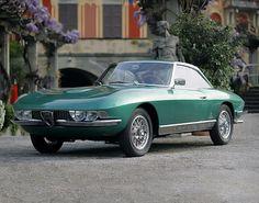 The '63 Alfa Romeo 2600 coupe space Cheer record by Pininfarina