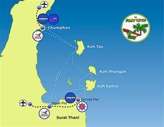 Bts Station, Khao San Road, Coach Travel, Thai Airways, Khao Lak, Bus Terminal, Mini Bus, Koh Phangan, Travel Route