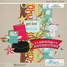 Once Upon A Time mini kit freebie from Meagans Creations