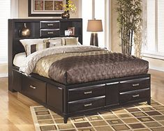 Kira Queen Storage Bed