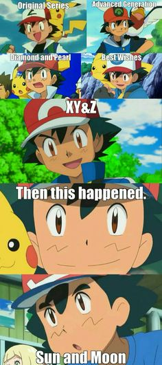 This is why I stopped watching Pokemon... They have ruin it.....
