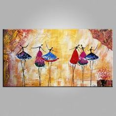 Pastel Oil Painting Ballet Dancer Painting XL Oil by Ballet Painting, Hand Painting Art, Online Painting, Pottery Painting, Abstract Wall Art, Canvas Wall Art, Painting Abstract, Bedroom Canvas, Canvas Paintings