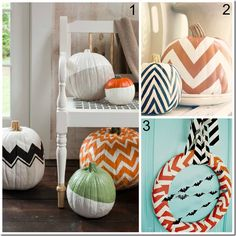 Trendy Halloween Décor.  Perfect projects for our fabulous Studio C designers!