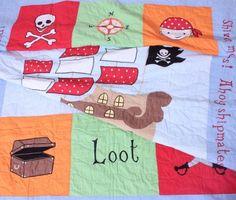 Babyface Pirate Single Quilt