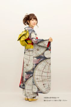 "Japanese Embroidery Kimono onlyeasy: "" Constellation print and map kimonos "" bon sang c'est splendide ! cela ira à Jim, comme un gant - Japanese Outfits, Japanese Fashion, Asian Fashion, Japanese Style, Japanese Lady, Learn Embroidery, Embroidery Kits, Embroidery Designs, Sashiko Embroidery"