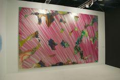 Art Basel: Katharina Grosse at Galerie nächst St. Stephan Rosemarie Schwarzwälder.