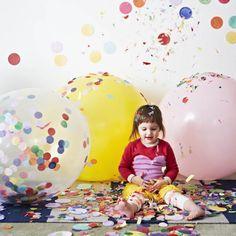 Jumbo Confetti Balloon for joy and celebrations | Lightly