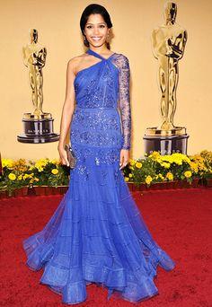 Freida Pinto - Oscars Best - John Galliano