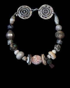 Marion Hamilton - Marion Hamilton - Collector Necklaces - Custom Jewelry with antique beads