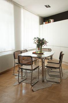 Salle à manger Cesca Architecte Laura Ruiz Fernandez Bruxelles