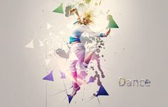 In this Photoshop tutorial I'll show you how to create a cool dance photo manipulation with colorful light effects and abstract shapes. In this dance tutori