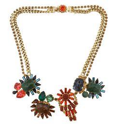 mixx color swarovski necklace  Rodrigo 0tazu