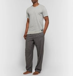 CALVIN KLEIN UNDERWEAR MÉLANGE STRETCH. #calvinkleinunderwear #cloth Calvin Klein Men Underwear, My Calvins, Trousers, Pajamas, Mens Fashion, Grey, T Shirt, Cotton, Clothes