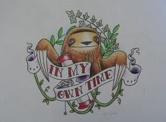 I don't really like this sloth but I love the banner :)