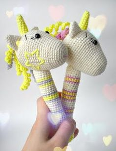 Amigurumi Unicorn Rattle-Free Pattern