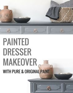 How To Paint Wood Furniture With Pure