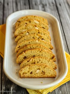 Citrus Olive Oil Biscotti with White Chocolate Chunks: #CreativeCookieExchange; Review of Ciao Biscotti | The Spiced Life