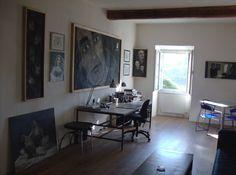 Atelieransichten Gallery Wall, Home Decor, Atelier, Homemade Home Decor, Decoration Home, Interior Decorating