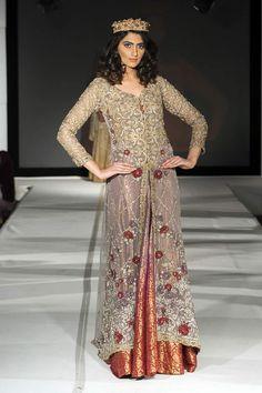 Saira Rizwan Collection at Pakistan Fashion Extravaganza London 2015